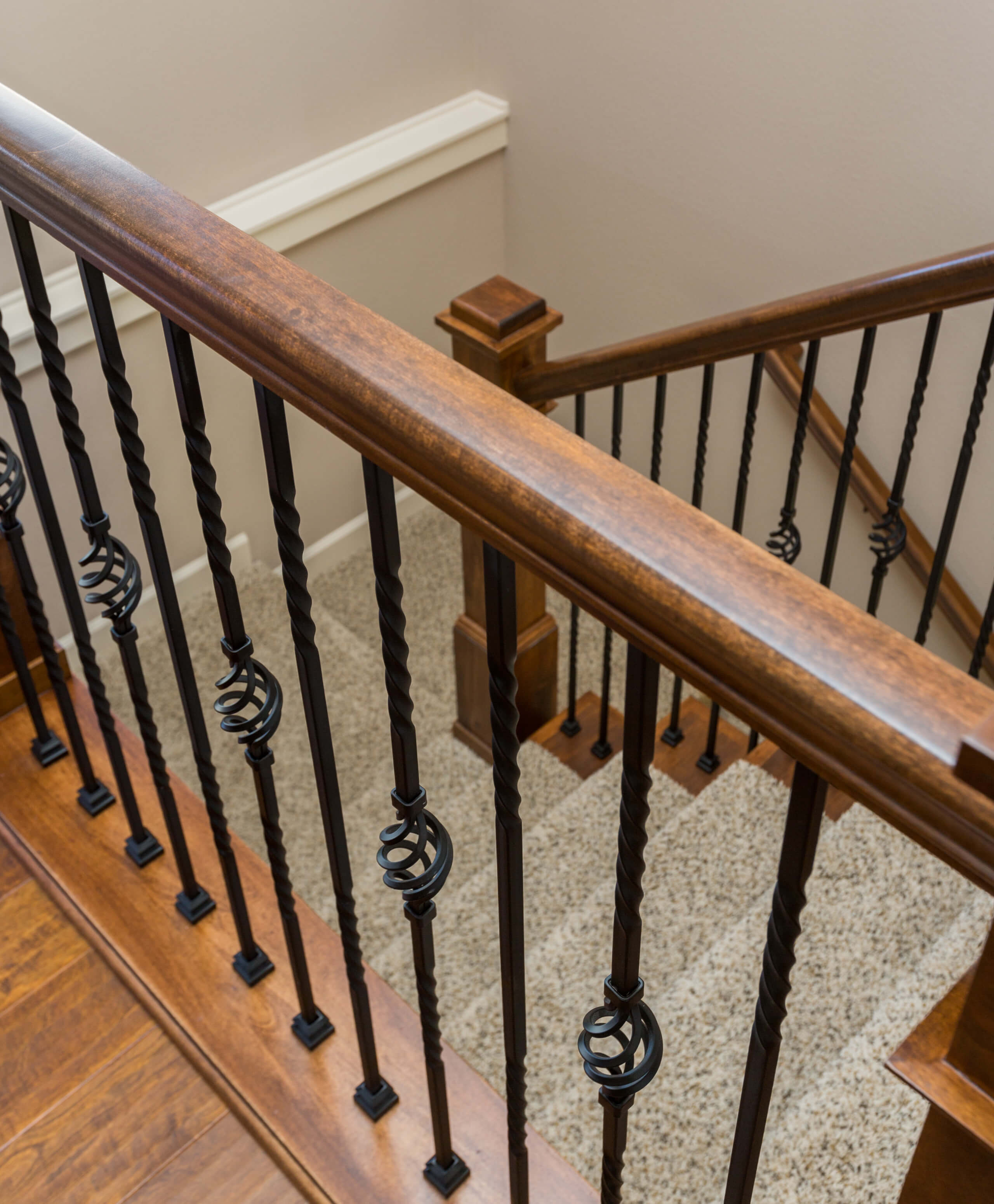 Transitional Detail Railing – Artistic Iron Works